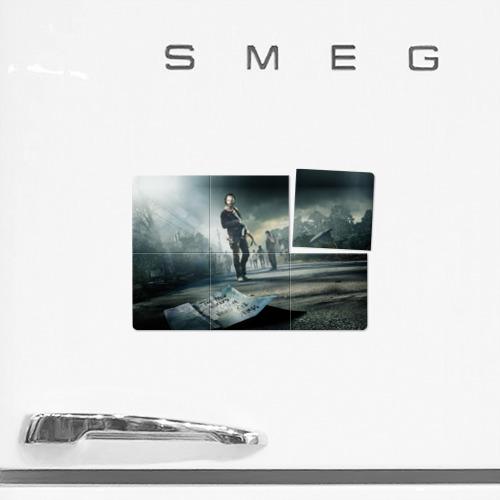 Магнитный плакат 3Х2  Фото 02, Ходячие мертвецы