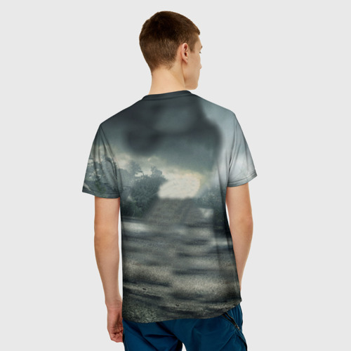 Мужская футболка 3D  Фото 02, Ходячие мертвецы