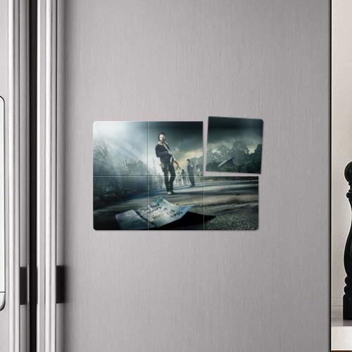 Магнитный плакат 3Х2  Фото 04, Ходячие мертвецы