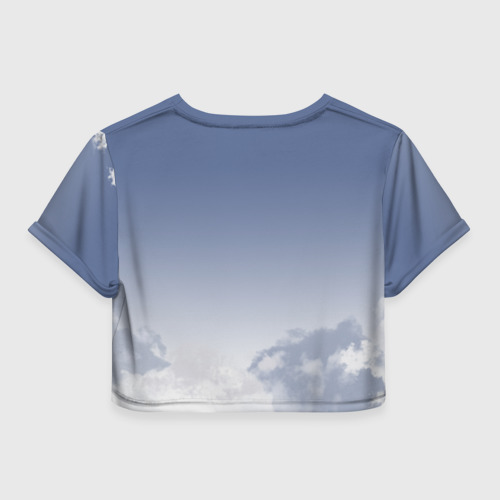 Женская футболка 3D укороченная  Фото 02, Лиллехаммер