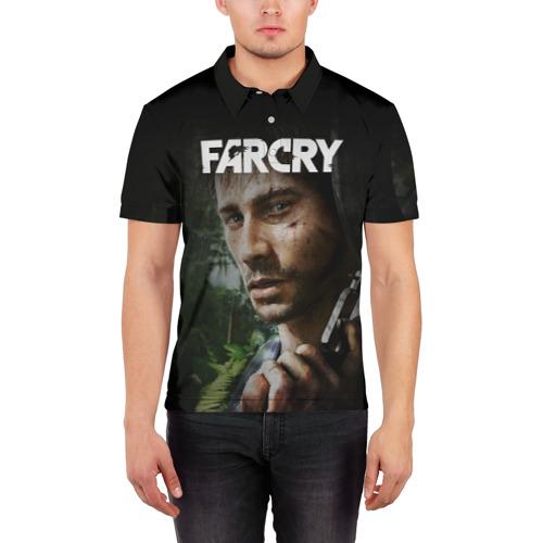 Мужская рубашка поло 3D  Фото 03, FarCry