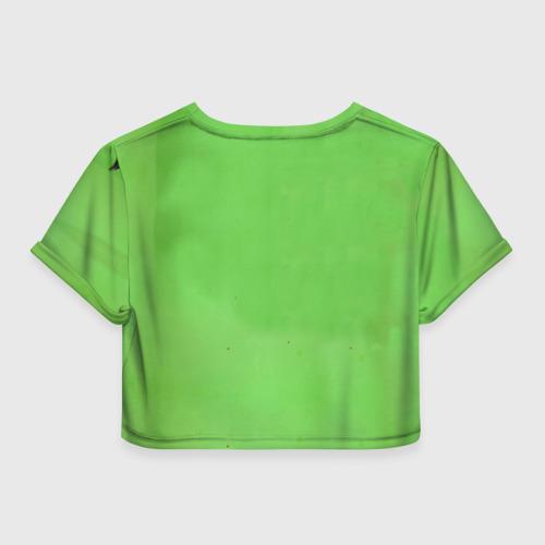 Женская футболка 3D укороченная  Фото 02, J Leto