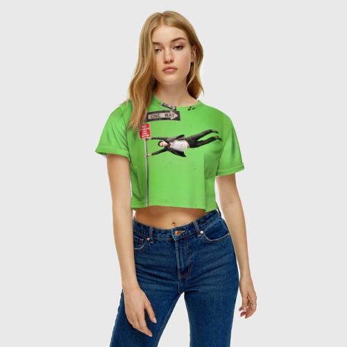 Женская футболка 3D укороченная  Фото 04, J Leto