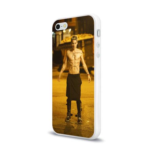 Чехол для Apple iPhone 5/5S силиконовый глянцевый  Фото 03, Hurricane