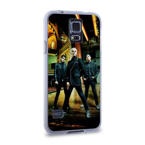 Чехол для Samsung Galaxy S5 силиконовый  Фото 02, My chemical romance