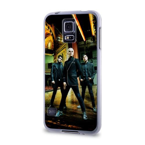 Чехол для Samsung Galaxy S5 силиконовый  Фото 03, My chemical romance