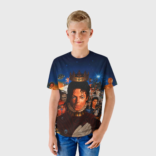 Детская футболка 3D Michael Jackson