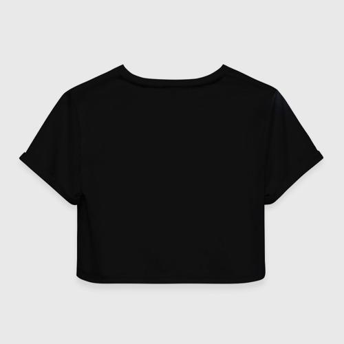 Женская футболка 3D укороченная  Фото 02, Michael Jackson