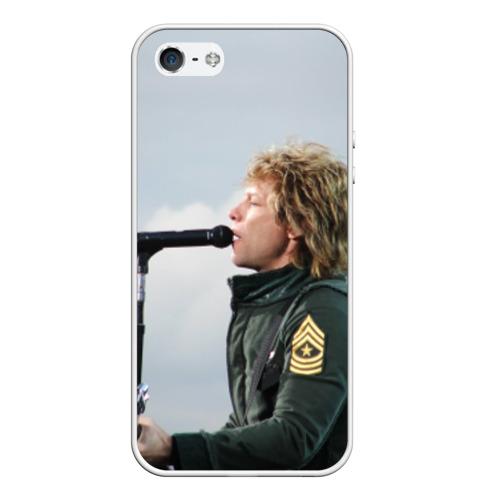 Чехол силиконовый для Телефон Apple iPhone 5/5S BON JOVI от Всемайки