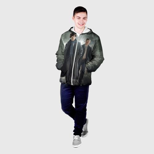 Мужская куртка 3D  Фото 03, Шерлок Холмс
