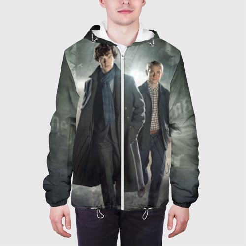 Мужская куртка 3D  Фото 04, Шерлок Холмс