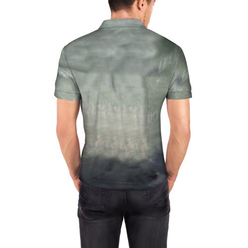 Мужская рубашка поло 3D  Фото 04, Шерлок Холмс