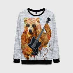 Медведь с гитарой