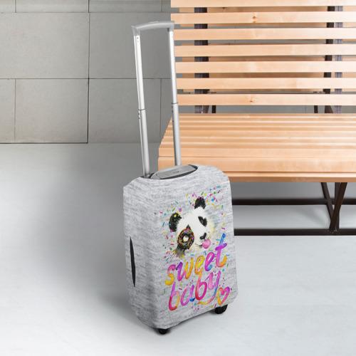 Чехол для чемодана 3D  Фото 03, Милая пандочка