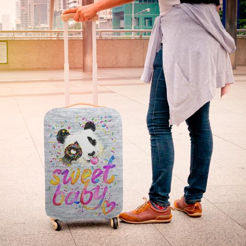 Чехол для чемодана 3D  Фото 04, Милая пандочка