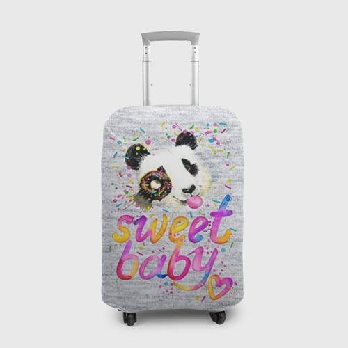 Чехол для чемодана 3D  Фото 01, Милая пандочка