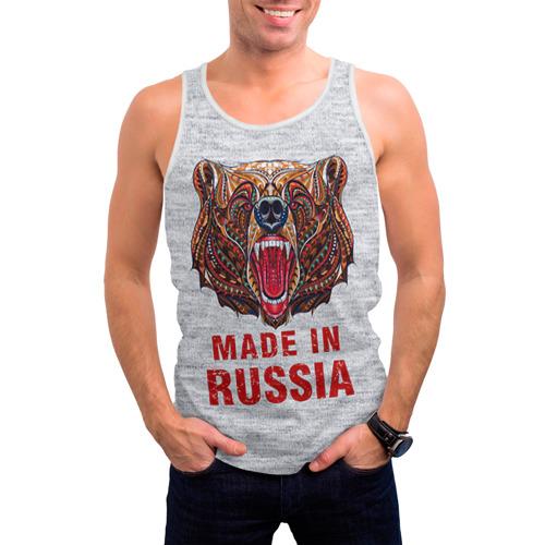 Мужская майка 3D  Фото 03, made in Russia