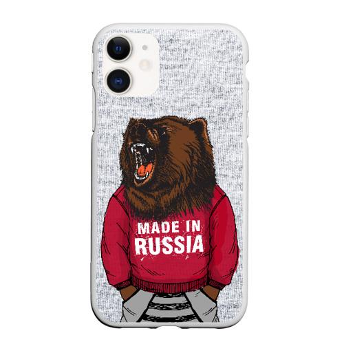 Чехол для iPhone 11 матовый made in Russia Фото 01