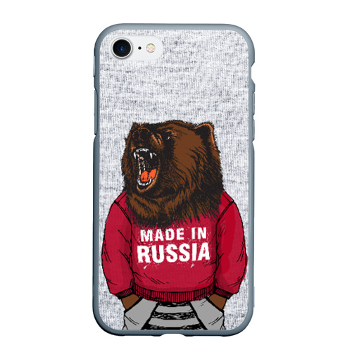 Чехол для iPhone 7/8 матовый made in Russia Фото 01