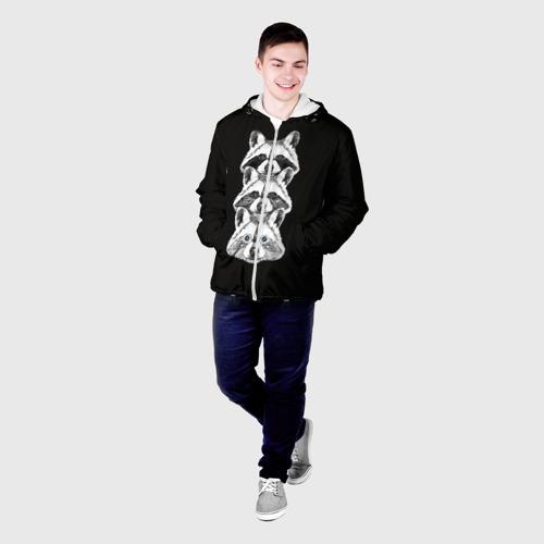 Мужская куртка 3D  Фото 03, Еноты