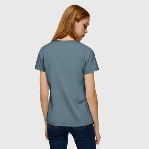 Женская футболка 3D Фыр фыр Фото 01