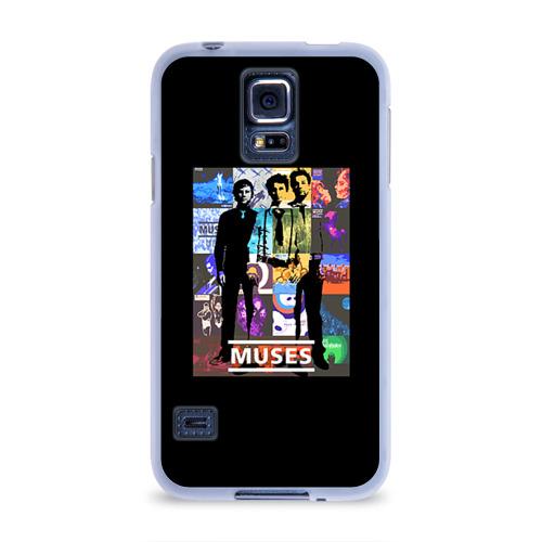 Чехол для Samsung Galaxy S5 силиконовый  Фото 01, Muse
