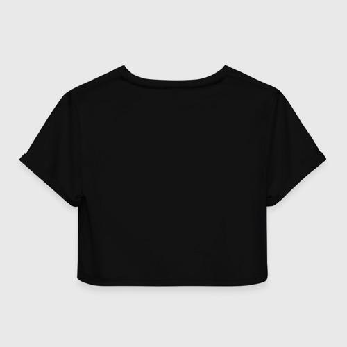Женская футболка 3D укороченная  Фото 02, Muse