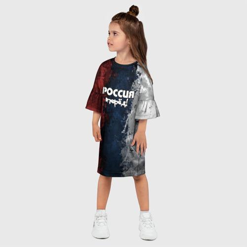 Детское платье 3D  Фото 03, Россия, вперёд!