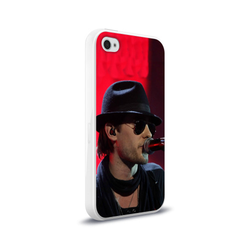 Чехол для Apple iPhone 4/4S силиконовый глянцевый  Фото 02, Mr. Leto