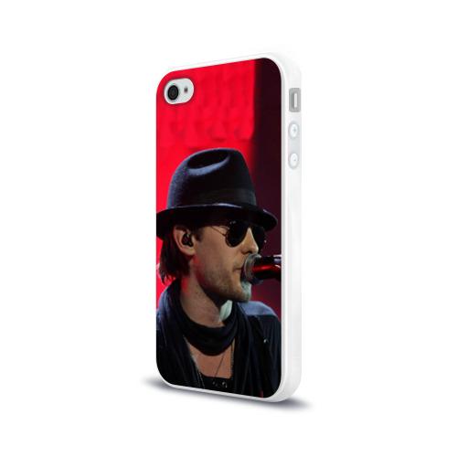 Чехол для Apple iPhone 4/4S силиконовый глянцевый  Фото 03, Mr. Leto