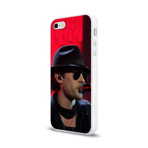 Чехол для Apple iPhone 5/5S силиконовый глянцевый  Фото 03, Mr. Leto