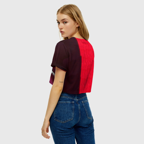Женская футболка Crop-top 3D Mr. Leto Фото 01