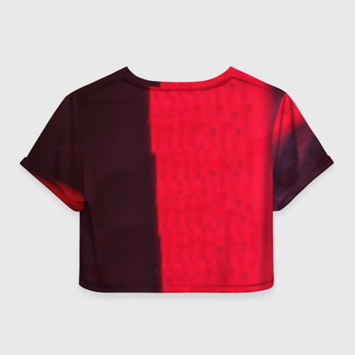 Женская футболка 3D укороченная  Фото 02, Mr. Leto
