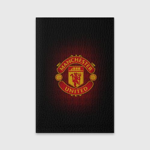 Обложка для паспорта матовая кожа  Фото 01, Манчестер Юнайтед