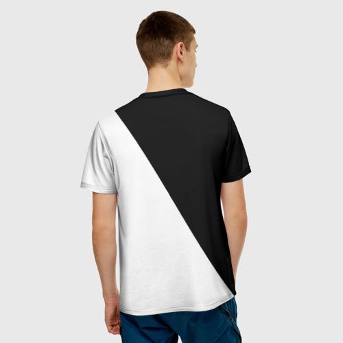 Мужская футболка 3D  Фото 02, Black and White