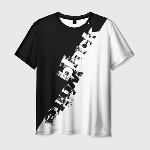 Мужская футболка 3D  Фото 03, Black and White