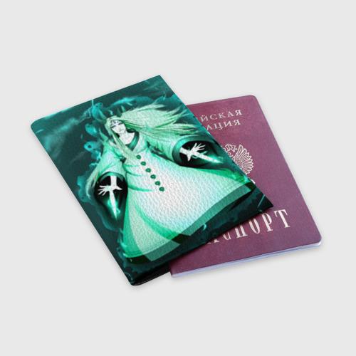 Обложка для паспорта матовая кожа  Фото 03, Кагуя из Naruto Shippuuden