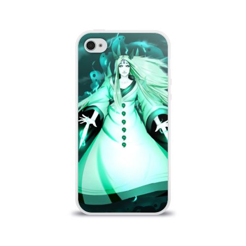 Чехол для Apple iPhone 4/4S силиконовый глянцевый  Фото 01, Кагуя из Naruto Shippuuden