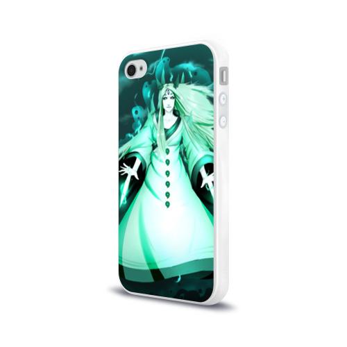 Чехол для Apple iPhone 4/4S силиконовый глянцевый  Фото 03, Кагуя из Naruto Shippuuden