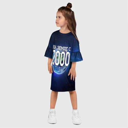 Детское платье 3D  Фото 03, На Земле с 2000