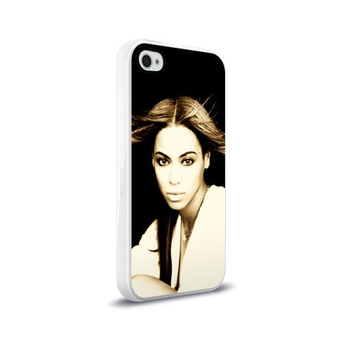 Чехол для Apple iPhone 4/4S силиконовый глянцевый  Фото 02, Beyonce