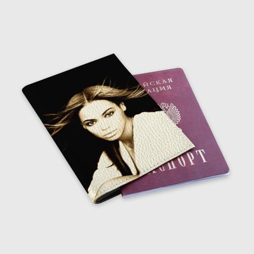 Обложка для паспорта матовая кожа  Фото 03, Beyonce