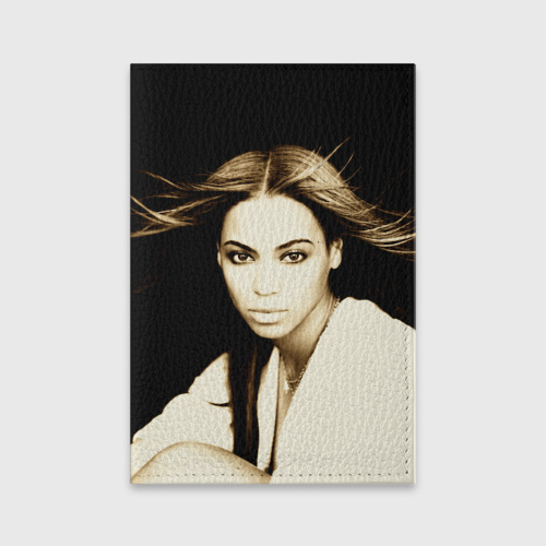 Обложка для паспорта матовая кожа  Фото 01, Beyonce