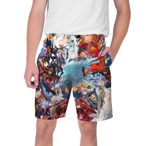 Мужские шорты 3D Evangelion