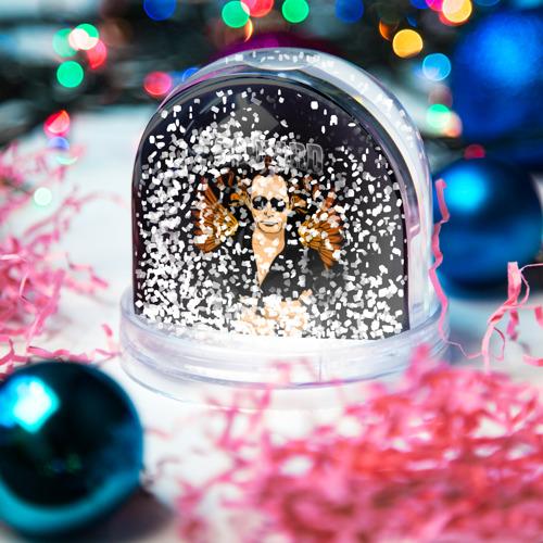 Водяной шар со снегом  Фото 04, Go hard