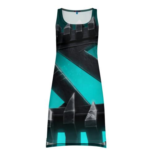 Платье-майка 3D Dota 2 Logo