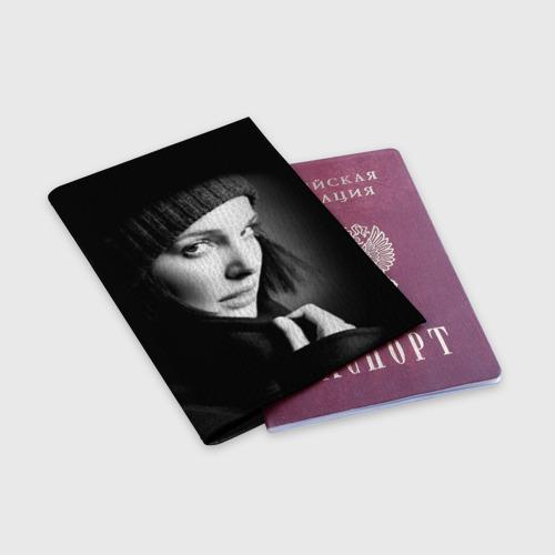 Обложка для паспорта матовая кожа  Фото 03, Натали Портман