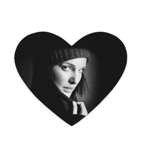 Коврик сердце  Фото 01, Натали Портман