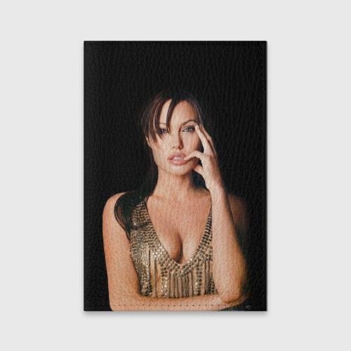 Обложка для паспорта матовая кожа  Фото 01, Анжелина Джоли