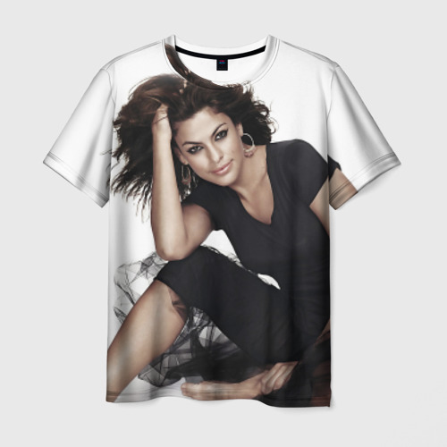 Мужская футболка 3D  Фото 03, Ева Мендес
